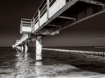 Alte Seebrücke Koserow von Max Steinwald
