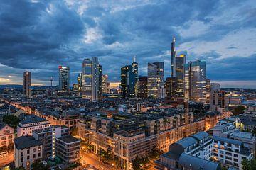 Frankfurtse skyline van Robin Oelschlegel