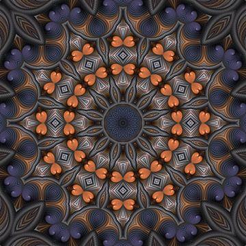 Mandala Herzlichkeit von Marion Tenbergen