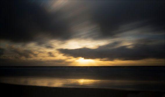 Zonsondergang  van Greetje van Son
