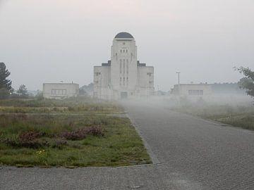Dauwtrappen bij Radio Kootwijk  van Klaas Roos