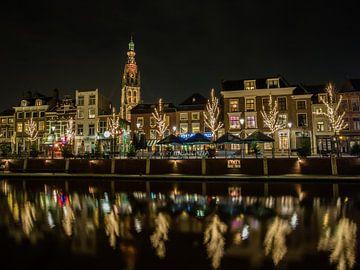 Breda - Haven by Night von I Love Breda