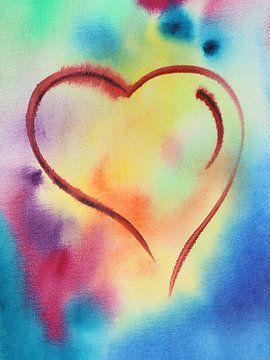 Un coeur passionné sur