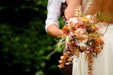 Bruidsboeket van Lindsey Post
