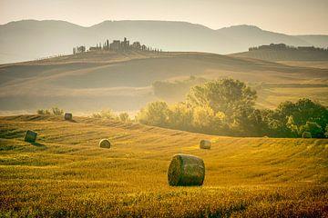 Toskanische Landschaft von Peter Poppe