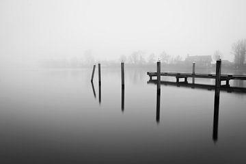 Markermeer in de mist van Jeanine Verbraak