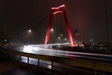 Willemsbrug Rotterdam van Gertjan Hesselink