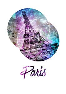Pop Art Eiffelturm   Graphic Style