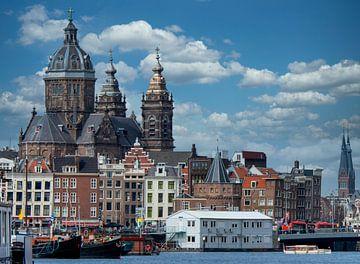 Sint Nicolaas basiliek Amsterdam van Peter Bartelings Photography