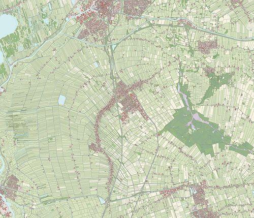 Kaart vanStaphorst