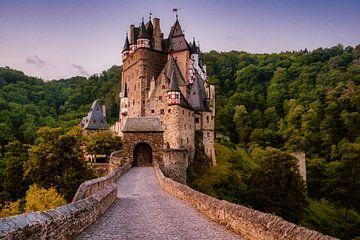 Burg Eltz in de vroege ochtend van Tim Wouters