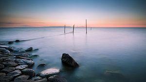 Sereen uitzicht op het IJsselmeer 4 van