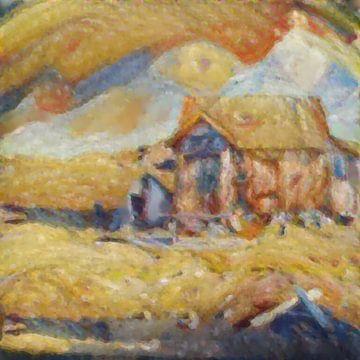 Abstract Inspiratie LXXI van Maurice Dawson