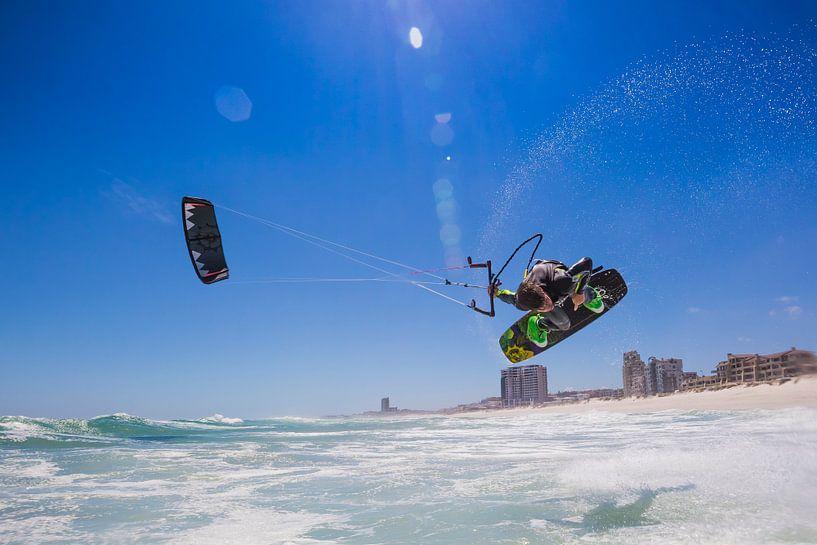 Kitesurfen Kaapstad van Andy Troy