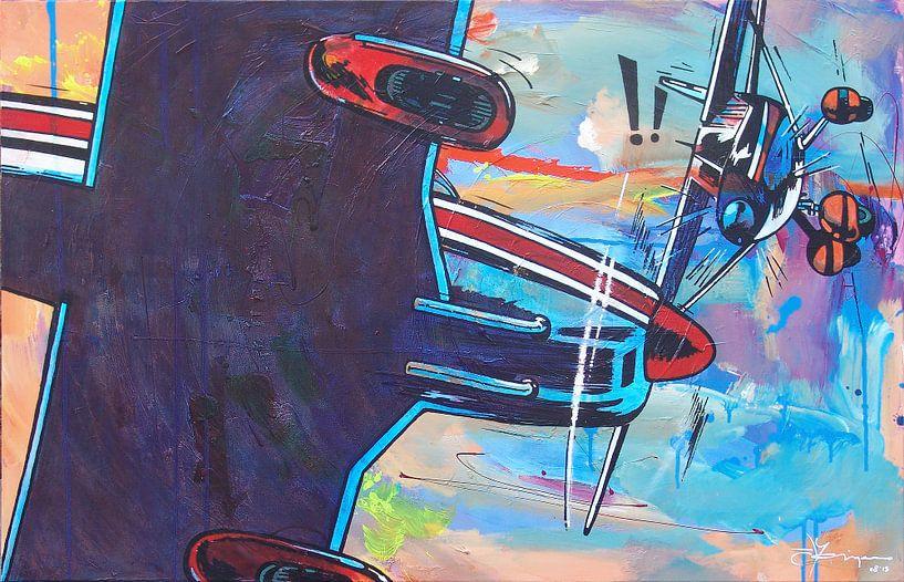 Airplane Mistake van Frans Mandigers
