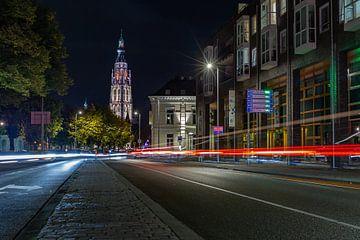 Breda Grote Kerk de Nieuwe Prinsenkade. sur Andre Gerbens