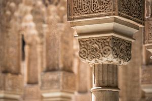 Detail in het Alhambra