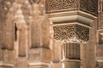 Detail in het Alhambra von Martijn Smeets