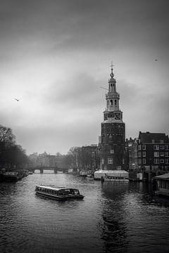 le bateau de croisière sur Iconic Amsterdam