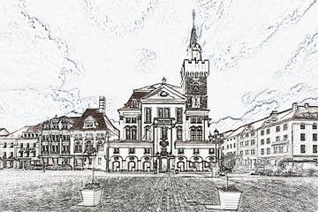 Stadhuis Löbau van Gunter Kirsch
