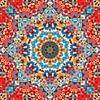 Triangle Art Mandala 2 von Marion Tenbergen Miniaturansicht