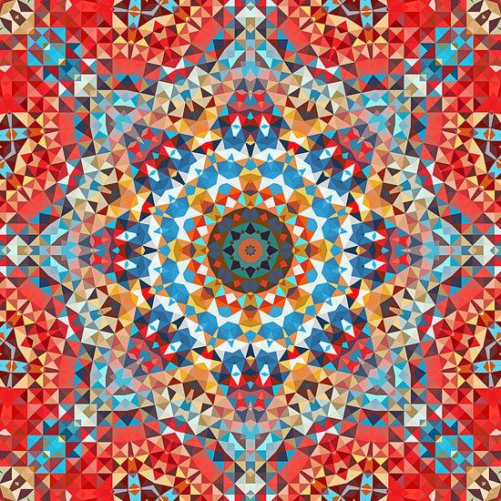 Triangle Art Mandala 2