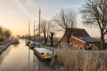Een Mooie Winterochtend in Maasland van Charlene van Koesveld