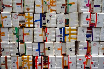 Piepschuim dozen van Andrew Chang