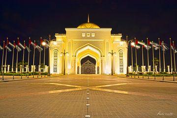 Entree UAE Presidential Palace von ferdy visser