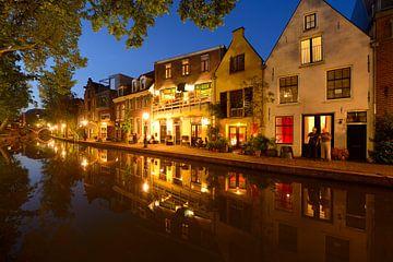 Twijnstraat aan de Werf aan de Oudegracht in Utrecht von Donker Utrecht