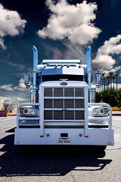 Peterbilt Truck, Amerikaanse vrachtwagen. van Gert Hilbink