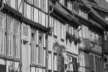 Vakwerkhuizen in het oude Quedlinburg van Marrit Molenaar