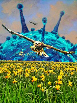 Corona-Frühlingszeit von Ruben van Gogh