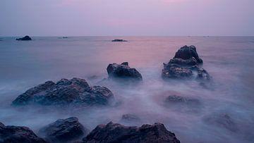 Sea of fog at Sunset sur