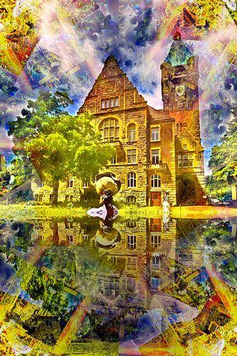 Rathaus 2 van Edgar Schermaul