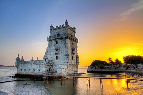 Torre de Belém van Dennis van de Water