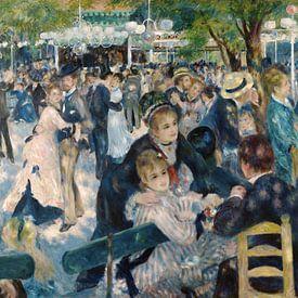 Bal du Moulin de la Galette van Pierre-Auguste Renoir van Rebel Ontwerp