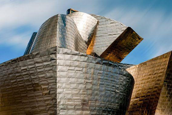 Guggenheim museum in Bilbao van Maerten Prins