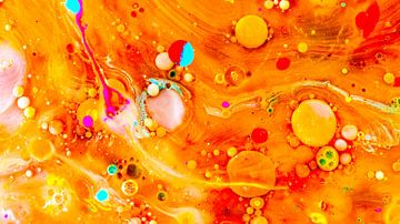 Regenboog bubbels van Rob Smit