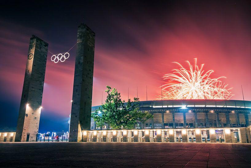 Pyronale Berlin – Olympic Stadium van Alexander Voss