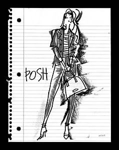 Doodle Posh, Anne Tavoletti