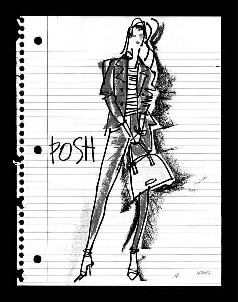 Doodle Posh, Anne Tavoletti sur Wild Apple