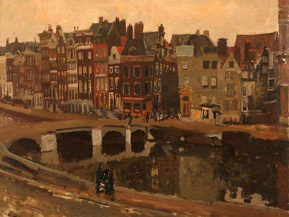 George Hendrik Breitner. Het Rokin in Amsterdam