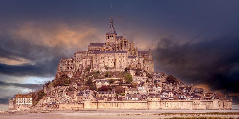 Le Mont-Saint-Michel in France von Andreas Wemmje