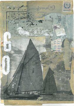 Sail Boats van Nora Bland