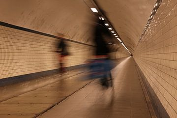 Forenzen Annatunnel Antwerpen van René Lous