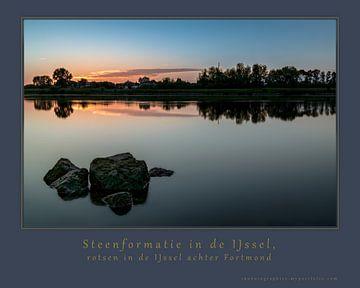 Steenformatie in dde IJssel