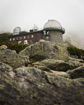 Observatorium in den Bergen der Slowakei von OCEANVOLTA