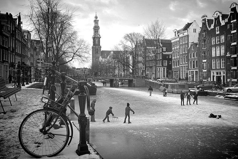 Amsterdam Prinsengracht sur Marianna Pobedimova