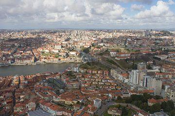 luchtfoto van Porto